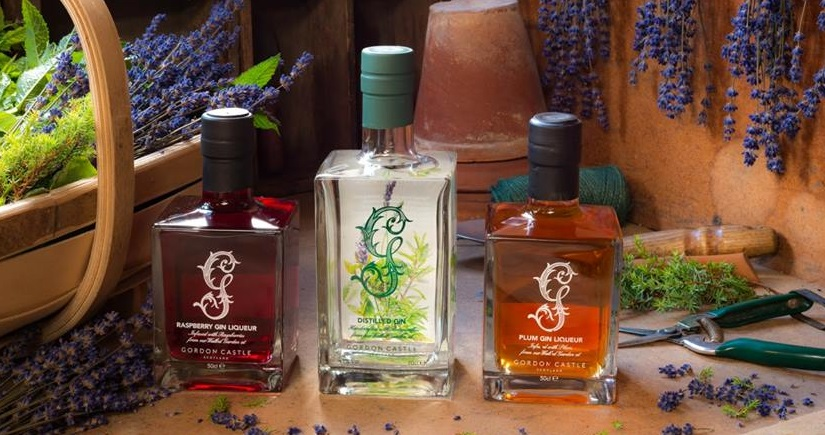 Gordon Castle Walled Garden craft gin